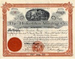 Hoketika Mining Company - Utah 1905