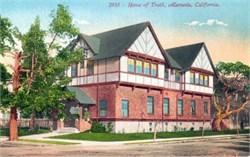 Home of Truth, Alameda, California Postcard