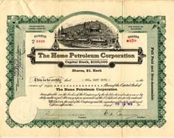 Home Petroleum Corporation - Colorado 1920