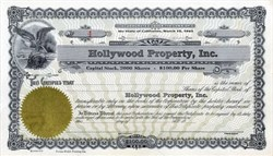 Hollywood Property, Inc. - 1943