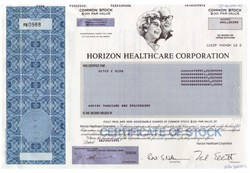 Horizon Healthcare Corporation