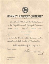 Hornby Railway Company - Liverpool 1947
