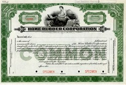 Howe Rubber Corporation - Delaware 1919