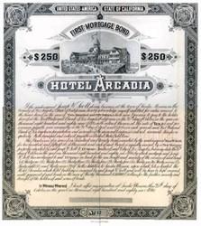Hotel Arcadia 1886 - Santa Monica, California