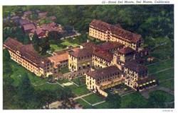 Hotel Del Monte, Del Monte, California Postcard