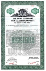 Home Telephone and Telegraph Company - Indiana
