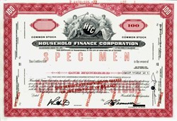 Household Finance Corporation (HFC) - 1972