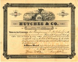 Hutches & Co. - New York 1902