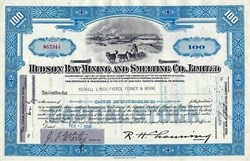 Hudson Bay Mining and Smelting Co., Limited - 1956