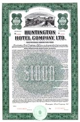 Huntington Hotel Company ( Now Langham Hotels International) - Pasadena, California  1936