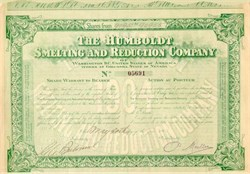 Humboldt Smelting and Reduction Company