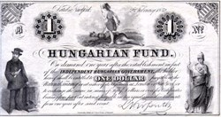 Hungarian Fund 1852 - Independent Hungarian Government