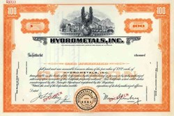 Hydrometals, Inc.