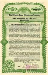 Illinois Pure Aluminum Company Gold Bond (Early Aluminum Cookware maker)  - Illinois 1909