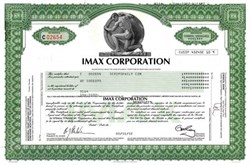 Imax Corporation ( Large Screen Motion Picture Company )