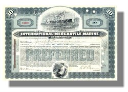 International Mercantile Marine 1920's - White Star Titanic Ship Owners