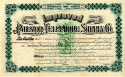 Improved Pulsion Telephone Co. - Maine 1893