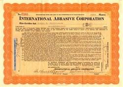 International Abrasive Corporation - Massachusetts 1920