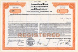International Bank for Reconstruction and Development - 1988
