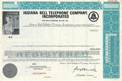 Indiana Bell Telephone Company, Incorporated - Specimen