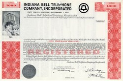 Indiana Bell Telephone Company  - 1970 Specimen