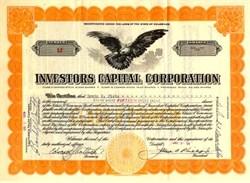 Investors Capital Corporation - Delaware 1929