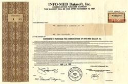 Info-Med Datasoft, Inc. - Delaware 1985