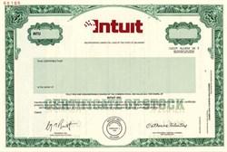 Intuit  (specimen) - Delaware 2000