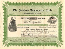 Indiana Democratic Club - Indiana 1914