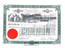 International Educational Publishing Company - New Jersey 1911