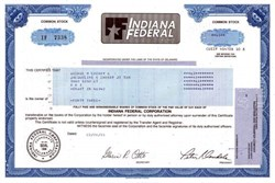 Indiana Federal Corporation