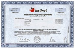 Instinet Group Incorporated ( institutional, agency-only securities broker ) - 2002