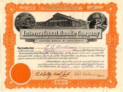 International Handle Company (Old Photo Vignette) - Fort Madison, Iowa 1919