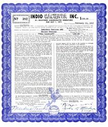 Indio Hacienda Inc. ( Same owner as the Las Vegas, Hacienda Hotel)  - California 1956