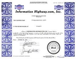 Information Highway.com, Inc. - Florida 2001