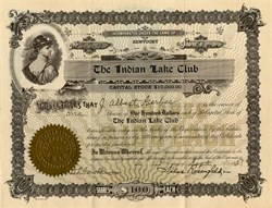 Indian Lake Club - Owensboro, Kentucky 1937