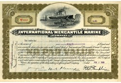 International Mercantile Marine Company - White Star Titanic Ship Owners