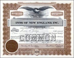 Inns of New England, Inc. 1923