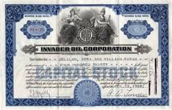 Invader Oil Corporation - Muskogee, Oklahoma -1926