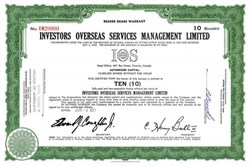 Investors Overseas Services Management Limited - Large International Fraud