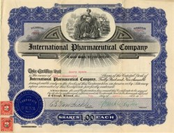 International Pharmaceutical Company - Offices in Chicago 1916