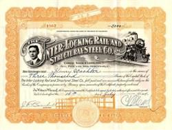 Inter-Locking Railroad Structural Steel Co. - Colorado 1914