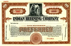 Indian Refining Company ( Became Texaco, now Chevron ) RARE Specimen - Maine