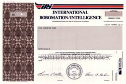 International Robomation / Intelligence