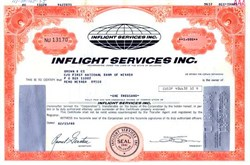 Inflight Services, Inc. - Early Airline Reel to Reel Entertainment System