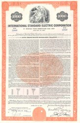 International Standard Electric Bond