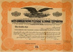 Inter-Communicating Telephone and Signal Corporation - New York