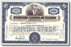 International Telephone and Telegraph Stock
