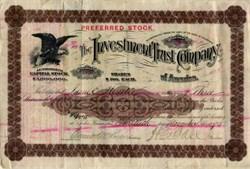Investment Trust Company - Topeka, Kansas - Colorado 1895