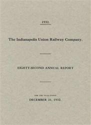 Indianapolis Union Railway Company 1932